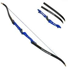 "NEW IRQ Archery Takedown Recurve Bow 66"" Al-Mg Riser Right Hand Hunting Target"