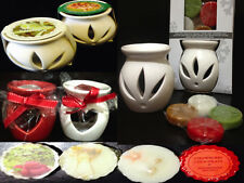 Assorted Colour White Red Oil/Wax Burner Diffuser Warmer Candle Wax Melt Tart