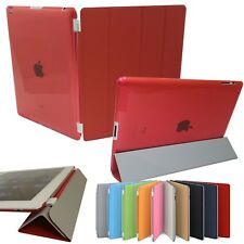 Ultra Thin Smart Flip Magnetic Stand Transparent Back Case Apple iPad Mini