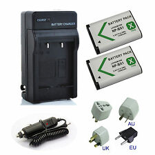 Battery / Charger for Sony HDR-AS10/B HDR-AS15/B HDR-AS20 HDR-AS30VR Action Cam