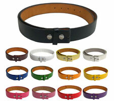 SNAP ON  STRAP BELT FOR YOUR BUCKLES, NON LEATHER WHOLESALE LOT PRICES   NEW.