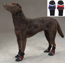 Used Fleece Lined Dog Boots, ManySizes, Water Repellent Protective Booties Shoes