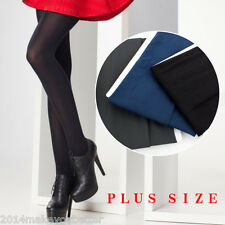 Velvet 80D Thick Opaque Pantyhose Women Tights Black Stockings Plus Size