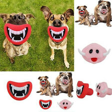Halloween Christmas Funny Pet Dog Teeth Toy Puppy Chew Sound Dogs Toys Greatly