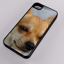 Chihuahua Sobel Dog Canine Puppy Hybrid Case Fits Apple iPhones Any Carrier