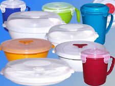 Microwave Dishes, Dish, Microwave Warm Up Plate o24cm, Soups Cup