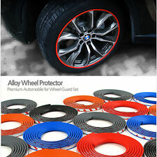 VIP Car Alloy Wheel Edge Ring Rim Protectors Tires Guard Rubber Moulding 5Color