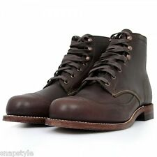 New Men's WOLVERINE 1000 Mile Addison W05342 - Brown Wingtip Original Boots USA