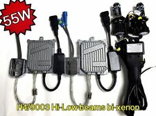 HI-LOW BEAMS H4 55W C2 CANBUS NO ERROR SLIM BI-XENON HID KIT 01-09 FOR PRIUS