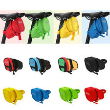 8-Color Cycling Bike Bicycle Rear Seat Saddle Tail 1L 600D Bag Quick Release