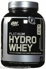 Optimum Nutrition ON HYDRO WHEY 100% Hydrolyzed Whey Protein Isolate Pick Flavor