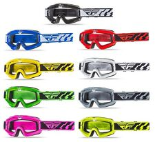 2016 Fly Racing Adult Focus MX ATV Offroad Goggles with Clear Lens