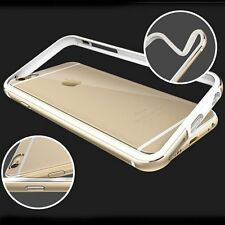 New Luxury Aluminum Metal Silicone Bumper Frame for iPhone 6 6s Plus Case Cover