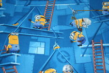 Kids Minions Desicable Me Bedroom Playroom Carpet Free p&p Any Size x 4m