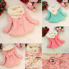 Baby Girls Kids Coats Toddler Outwear Clothes Winter Jacket Snowsuit Clothinges