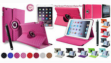 360° Rotating Leather Stand Case Cover for iPad 2 3 4 5 6 iPad Mini 4 iPad Air