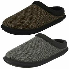 Mens Clarks Slipper Mules 'Kite Turn'