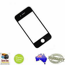 for iPHONE 4S - Front Outer Touch Screen Lens Glass Replacement - BLACK