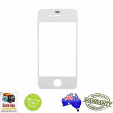for iPHONE 4 - Front Outer Touch Screen Lens Glass Replacement - WHITE