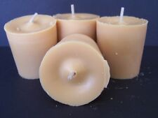 Hand Poured Soy Wax Votive Candles 5 pk+ 1 glass 15 hr burn time Fragrance oils