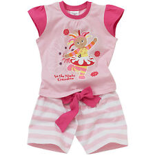 Baby Toddler Girls In The Night Garden Upsy Daisy Cotton Shortie Pyjamas Pink