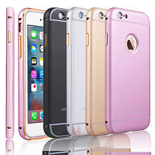 Luxury Aluminum Ultra-thin Metal Hard Bumper Case Cover for Apple iPhone 6 6S