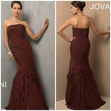 NWT JOVANI COUTURE MARMAID GOWN WITH LAYERED SKIRT MOTHER OF BRIDE/EVENING $987