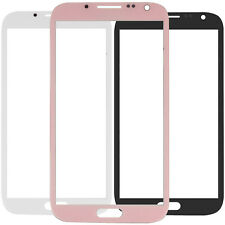 Front Outer Lens Touch Glass / Sticker Adhesive For Samsung Galaxy Note 2 N7100