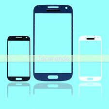 Front Outer Lens Touch Glass / Sticker Adhesive For Samsung Galaxy S4 Mini i9190