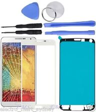 White Outer Front Glass Screen Replacement Frame For Samsung Galaxy Note 3 III