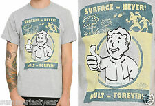 FALLOUT 4 VAULT BOY VAULT FOREVER UNISEX T-SHIRT FOR ADULTS FREE SHIP