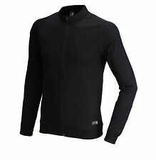 NIKE Men Jacket AS Revolution Knit Track Black Shirts Football Soccer 688402-011