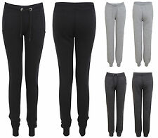 New Ladies Womens Tracksuit Bottoms Joggers Skinny Soft Gym Jogging Pants