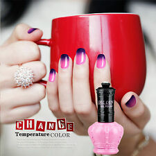 Gellen Glitter Temperature Color Changing UV Led Nail Gel Polish Soak off 15 mL