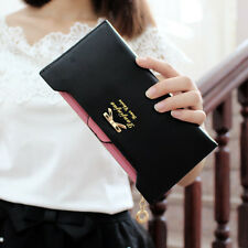Hot Fashion Women Lady Leather Clutch Wallet Long Card Holder Case Purse Handbag