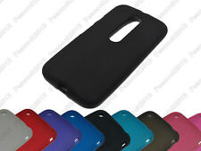 Multi Matting TPU Silicone CASE Cover For Motorola Moto G 3rd gen 2015 G3 XT1552