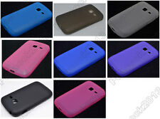 Multi Color Matting TPU Silicone CASE Cover For Samsung Galaxy Y Duos S6102
