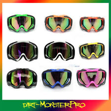 New Motorcycle MOTOCROSS ATV DIRT BIKE OFF ROAD RACING SKI GOGGLES TINTED