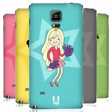 HEAD CASE DESIGNS FEMALE TEEN PERSONALITIES BATTERY COVER FOR SAMSUNG PHONES 1