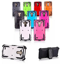 NEW Armor Shockproof Back Cover Case Protector TPU+PC For LG G4 Note LS770