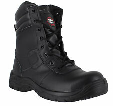 AirSafe AS-C2 - Mens Combat Style Safety Boots - S1P Composite Toe Cap