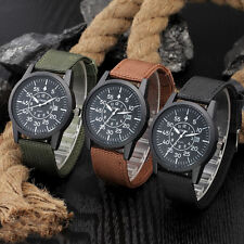 Sport Stainless Steel Military Mens Watches Date Analog Quartz army Wrist Watch