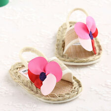 Summer Cute New Born Baby Girl Toddler Shoes Infant Walker Crib Sandals 3 Size