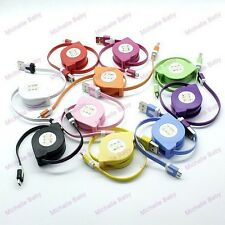 Retractable Micro USB Cable Data Sync Charger for Android Phones Samsung Galaxy