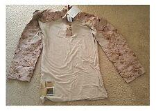USMC Issue FROG COMBAT Shirt Flame Resistant - Desert MARPAT - Various Sizes NEW