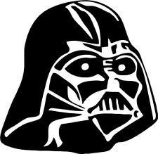 Star Wars - Darth Vader Helmet - Vinyl Car Window and Laptop Decal Sticker