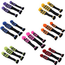3 in 1 Knitted Golf Putter Headcover For Taylormade Callaway Ping Club 1# 3# 5#