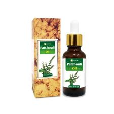 PATCHOULI OIL 100% NATURAL PURE UNDILUTED UNCUT ESSENTIAL OIL 5ML TO 100ML