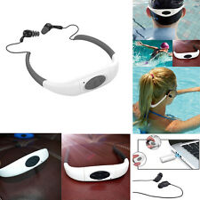 4/ 8GB Waterproof Sport MP3 Player FM Radio for Swimming Surfing Diving Earphone