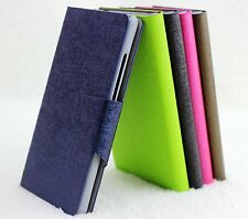 For HTC Incredible 2 S710E G11 Oracle Vein PU Leather Flip Wallet Case Cover